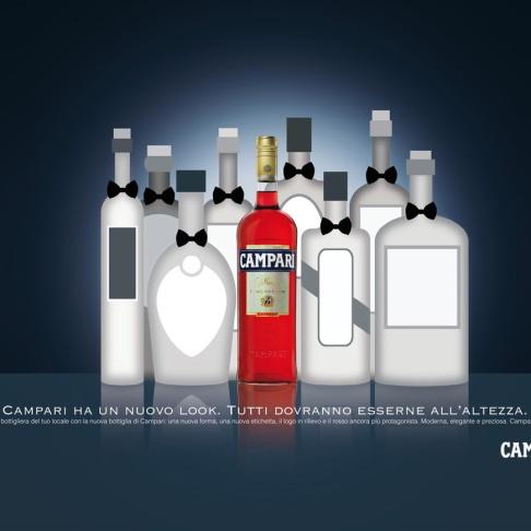 La bottiglia Campari ha un nuovo look
